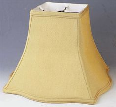 Fancy silk square lamp shade soft luxury lining cream, white great selection of unique and imaginative square lampshades and other geometric shapes Square Lamp Shades, Small Lamps, Swag Light, French Silk, Cream White, White Fabrics, Lampshades, Geometric Shapes, Candlesticks