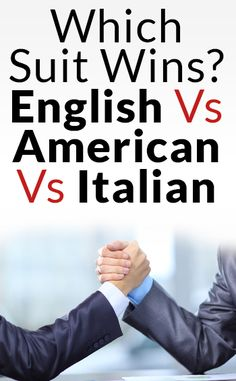 Difference Between British, Italian & American Suits