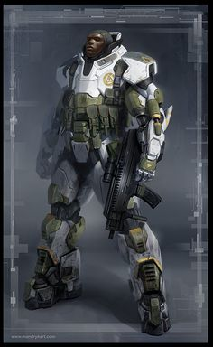 Concept Art masterpieces : the work of Daryl Mandryk
