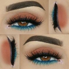 Best 25+ Green eyeshadow ideas on Pinterest | Green makeup, Eyemakeup... ❤ liked on Polyvore featuring beauty products, makeup, eye makeup and eyeshadow #makeupideaseyeshadows