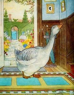New Fashion Antique American Folk Art Goosey Goose Gander Set 3 Embroidery Picture Sampler @ Making Things Convenient For The People Linens & Textiles (pre-1930)