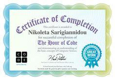 Congratulations | Code.org