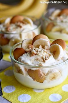Eat Cake For Dinner: Magnolia Bakery's Famous Banana Pudding