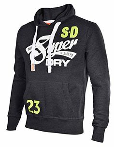 8af0f5b838f Superdry Men s Cali Tails Entry Pullover Hoodie Superdry Men s Cali Tails  Entry Pullover Hoodie Features