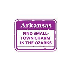 Arkansas - Find small town charm in the Ozarks in the Victorian village of Eureka Springs.  Visit in May for the Festival of the Arts (painting classes & tours of artist's homes).  Explore Susan Morrison's signature gallery & spend the night in the 1886 Crescent Hotel & Spa (a haunted hotel w/ nightly ghost tours).  www.mayfestivalofthearts.com