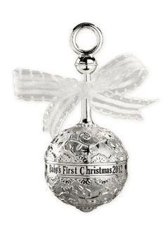 babys 1st christmas ornament