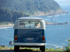 Blue Bay vw bus  | re-pinned by http://www.wfpcc.com/palmbeachrealestate.php