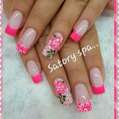 69 Ideas fails design gel teal for 2019 French Tip Nail Designs, Pretty Nail Designs, Toe Nail Designs, Elegant Nails, Stylish Nails, Wow Nails, Cute Nails, Pastel Nails, Pink Nails