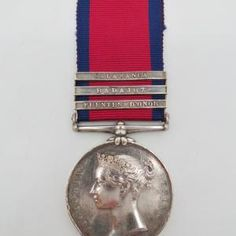 Military General Service Medal (Clasps - Fuentes d'Onor, Badajoz, Salamanca) - Hugh Conroy, 44th Foot - Wounded at Waterloo | Cultman Collectables