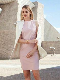I choose to sew: Free Pattern: Burda sleeveless dress size 34-42