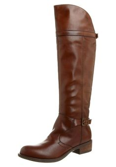 Marc O'Polo knee high boots brandy