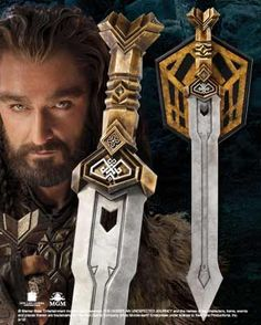 Thorin Oakenshield's dwarven sword from the Hobbit... $209.00 ...The movie is going to be so awesome...best director and one of the best books ever!