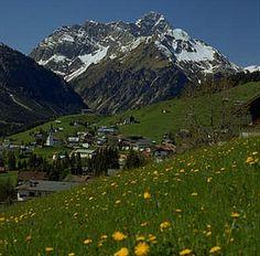 Kleinwalsertal in Vorarlberg, Österreich