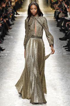Milan / Blumarine / #evening #gown #gold