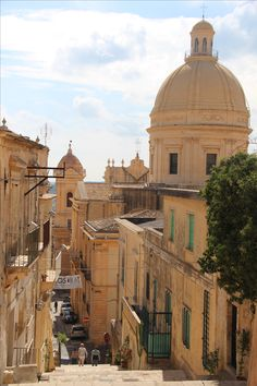 Sicily / Noto / City / Beautiful