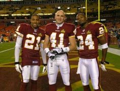 Fred Smoot, Matt Bowen, and Champ Bailey Redskins Players, Redskins Fans, Redskins Football, Football Is Life, Football Fans, Redskins Pictures, Nfc East Division, Nfc Teams