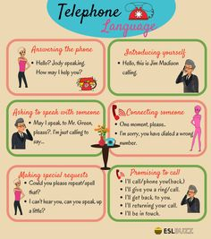 Most Commonly Used English Phrases on the Phone – ESLBuzz Learning English Here are some common phrases and sentences you can use when speaking on the telephone… English Talk, Improve English, Learn English Grammar, English Vocabulary Words, Learn English Words, English Phrases, Kids English, English English, English Conversation Learning