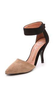 Marais USA Fille Suede d'Orsay Heels |SHOPBOP | Save up to 25% Use Code BIGEVENT13