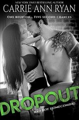 Dropout Bad Boy Homecoming Bk 1 By Carrie Ann Ryan Genre: Contemporary Romance Humor, Romantic Comedy Release Date: June 2017 Book Series, Book 1, Book Review Sites, Interesting Reads, Paranormal Romance, Bad Boys, Bestselling Author, Carry On