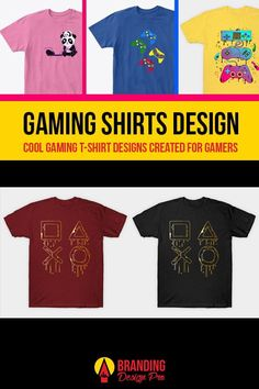 Gaming Shirts | A collection of gaming shirt designs from the brands Just Gaby Gaming, Jay's Xtreme Gaming, and Kenal Louis. Creative, Cute, Artistic, Cool Graphic Tees for Gamers. Gamer Tee Shirts. Get The Shirt You Love today! #gamer #tees #tshirt #shirts