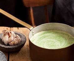 Recept: Courgette-knoflooksoep   Gezond eten