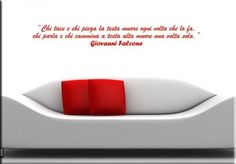 adesivo murale frase Falcone