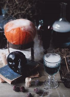 Halloween Cocktails Cinemagraphs – Fubiz Media