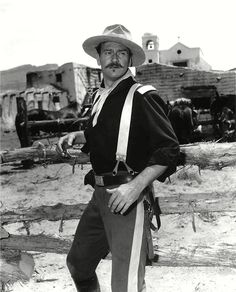John Wayne in Rio Grande directed by John Ford, 1950 Tyrone Power, Don Johnson, Rio Grande, Film Rio, Westerns, John Wayne Movies, Joanne Woodward, Rosalind Russell, John Ford