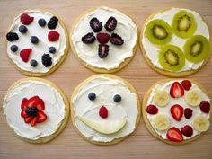 Sugar Cookie Pizzas Recipe and Video | Weelicious