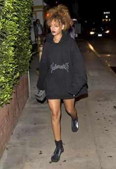 Rihanna's unique street style never fails to turn heads.