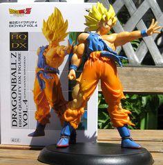 Figura de Goku 20 cms PVC. Sin articulaciones.