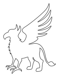 Free Animal Patterns for Crafts, Stencils, and Animal Templates, Shape Templates, Stencil Templates, Snake Coloring Pages, Colouring Pages, Harry Potter Stencils, Printable Shapes, Wood Carving Patterns, Free Stencils