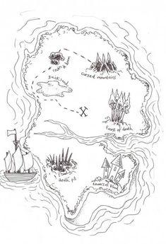 Carte Au Trésor De Chick : carte, trésor, chick, Treasure, Coloring, Ideas, Maps,, Pages,