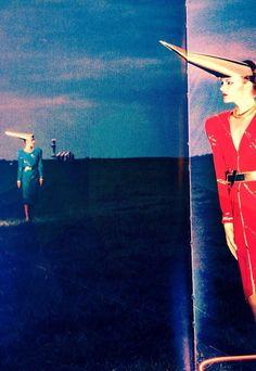 Dresses by Claude Montana 1979