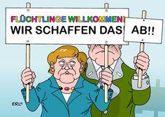 DERUWA: Nächste Runde im Flüchtlingsstreit - Merkel vs. Se...