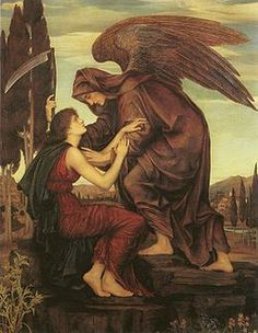 Azrael is the Archangel of Death in some traditions. He is also the angel of retribution in Islamic theology and Sikhism. The name Azrael is an English form of the Arabic name ʿIzrāʾīl (عزرائيل) or Azra'eil (عزرایل), the name traditionally attributed to the angel of death in some sects of Islam and Sikhism, as well as some Hebrew lore.