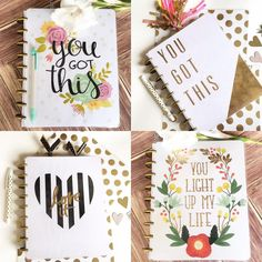 helloprettyplanner: NEW DESIGNS ARE UP! I've had a few people ask for more- and here they are. AND There are even more newbies in my shop so go check them out and show me some love. Homemade Planner, Planner Layout, Planner Diy, Travel Planner, Happy Planner Cover, Cute Stationery, Stationary, Cool Notebooks, Erin Condren Life Planner