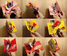 Artist Sophie Lecuyer's pop up books