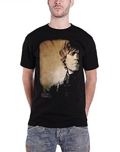 Game Of Thrones Mens Tyrion Lannister Official T Shirt X Large Black Niftywarehouse