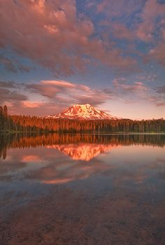 Serene Mt. Adams by Trevor Anderson