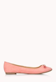 Darling Bow Flats | FOREVER21 - 2000065121413 $13
