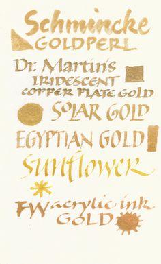 metallic inks   Painting Speech