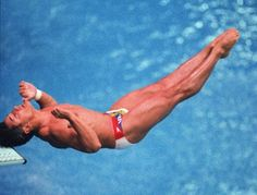 The shock you felt when you saw Greg Louganis hit his head on the diving board at the 1988 Seoul Olympics......still takes my breath away....