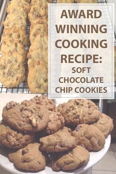 This award winning soft chocolate chip #cookies #cooking #recipe will ...