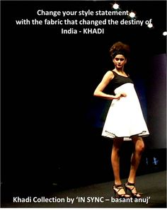 """Our label """"IN SYNC-basant anuj' is #CrowdFunding 4 the #EcoFriendly @KhadiCollection. @CrowdFundingBB @Eco Fashion Week"""