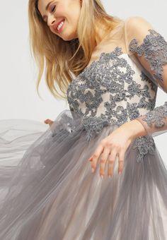 Luxuar Fashion Ballkleid - grau/nude - Zalando.de