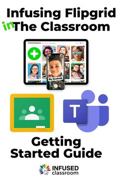 Using Flipgrid in the Classroom Microsoft Classroom, Online Classroom, Instructional Technology, Instructional Strategies, Google Classroom, Classroom Ideas, Team Teaching, Teaching Music, Teaching Tips