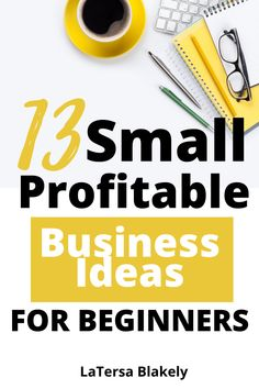 These are 13 small business profitable ideas that will help you make some extra money from home. Get these simple steps. Great Small Business Ideas, Business Ideas For Beginners, Small Business From Home, Start Up Business, Business News, Creative Business, Online Business, Work From Home Moms, Make Money From Home