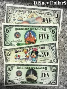 All about Disney Dollars