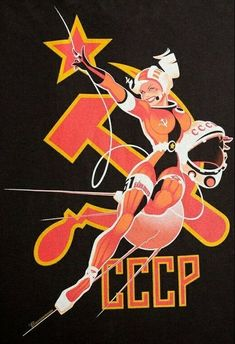 "Dedicated to all things ""geek retro:"" the science fiction/fantasy/horror fandom of the past including pin up art, novel covers, pulp magazines, and comics. Communist Propaganda, Propaganda Art, Space Opera, Pin Up Drawings, Socialist Realism, Pin Up Posters, Political Posters, Soviet Art, Ligne Claire"